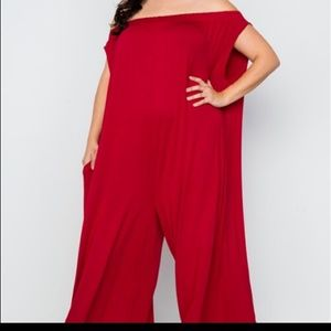Love In Pants - 😍 LAST ONE RED JUMPSUIT😍💯